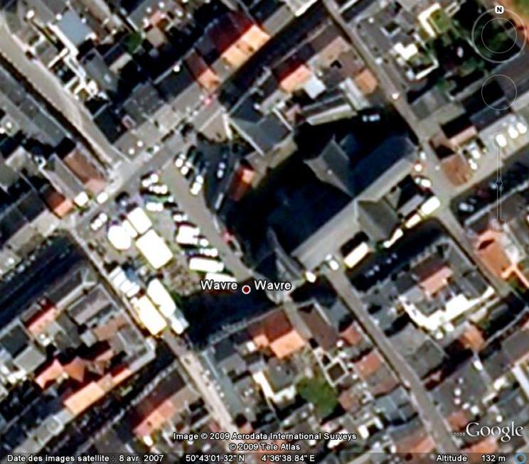 Marchés et Brocantes sur Google Earth Marcha29