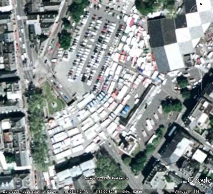 Marchés et Brocantes sur Google Earth - Page 5 Marcha85