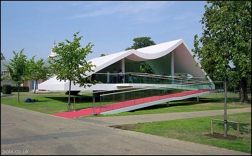 Evolution des pavillons d'été de la Serpentine Gallery à Londres - Royaume-Uni Pglond10