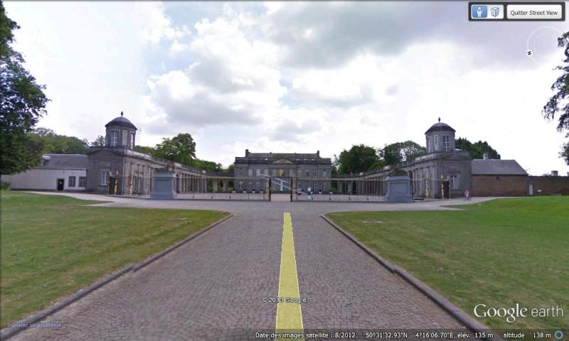 STREET VIEW : les parcs de grands châteaux de Belgique désormais disponibles ! Seneff10