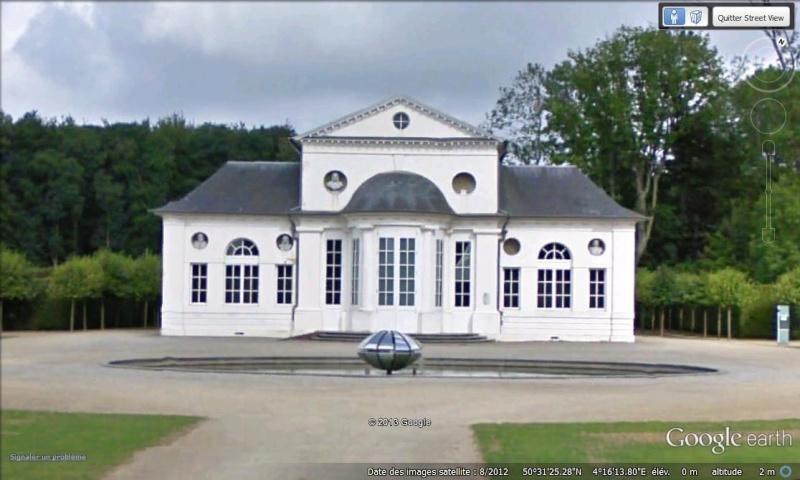 STREET VIEW : les parcs de grands châteaux de Belgique désormais disponibles ! Seneff13