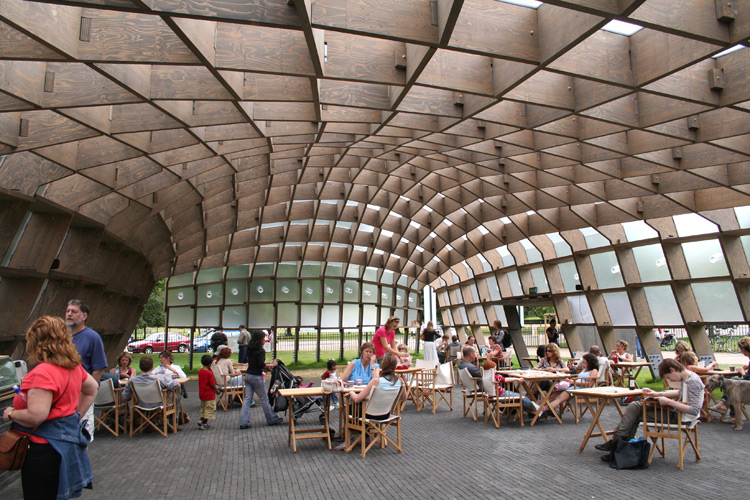 pavillon serpentine - Evolution des pavillons d'été de la Serpentine Gallery à Londres - Royaume-Uni Serpen14