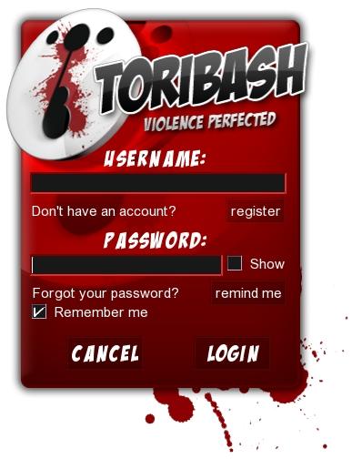 II - TuTo Toribash : L'interface 1login10