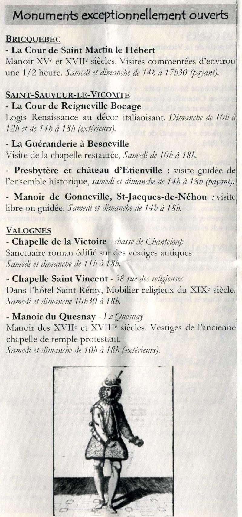 Journées du patrimoine en Nord-Cotentin! Journa11
