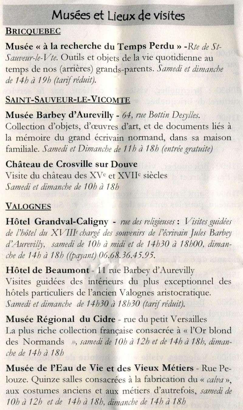 Journées du patrimoine en Nord-Cotentin! Journa12