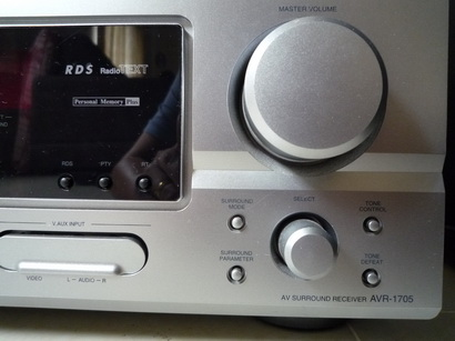 Denon AVR-1705 AV receiver (Used) - Sold P1080211