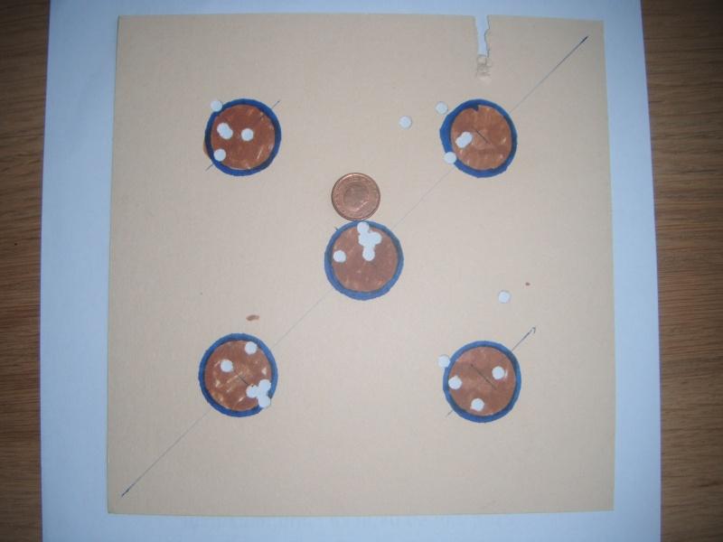 Carton à 10m debout sans appui visée ouverte : hw77K en 7.5 joules Dscf1411