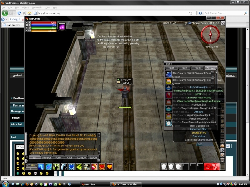 Gm Bakit Hinde ko makuha ung skill ko from the skill bank 3 skills pa T_T At wla pa akong 20rb free at 1000 epoints 20462012