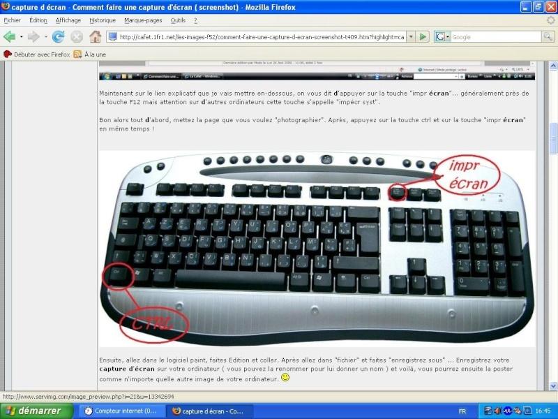 Faire une capture d 39 cran screenshot page 5 for Screenshot ecran