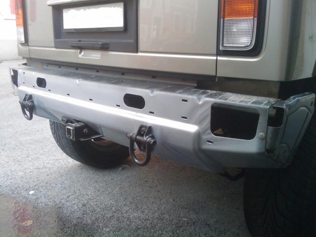 Restauration des plastiques et pare-chocs sur un Hummer H2 Image_29