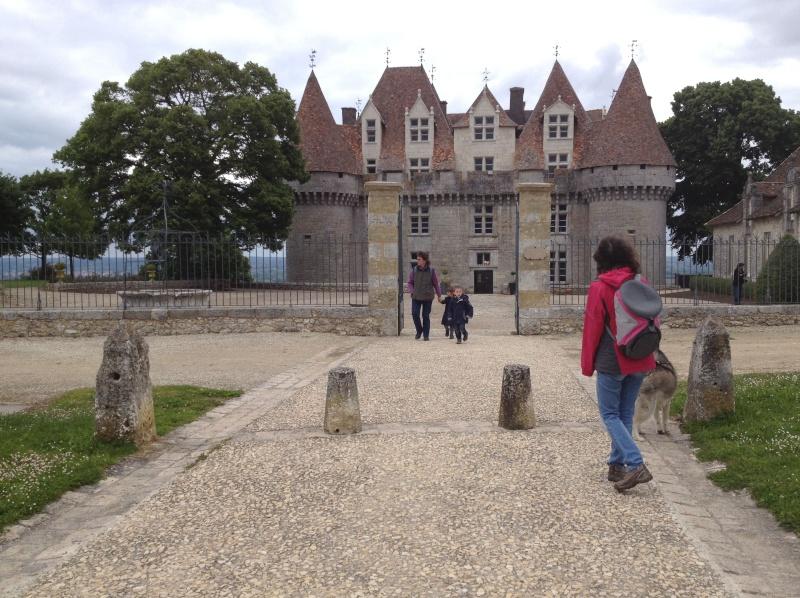 Escapade avec Baltik  en Dordogne dans le perigord noir Monbaz10