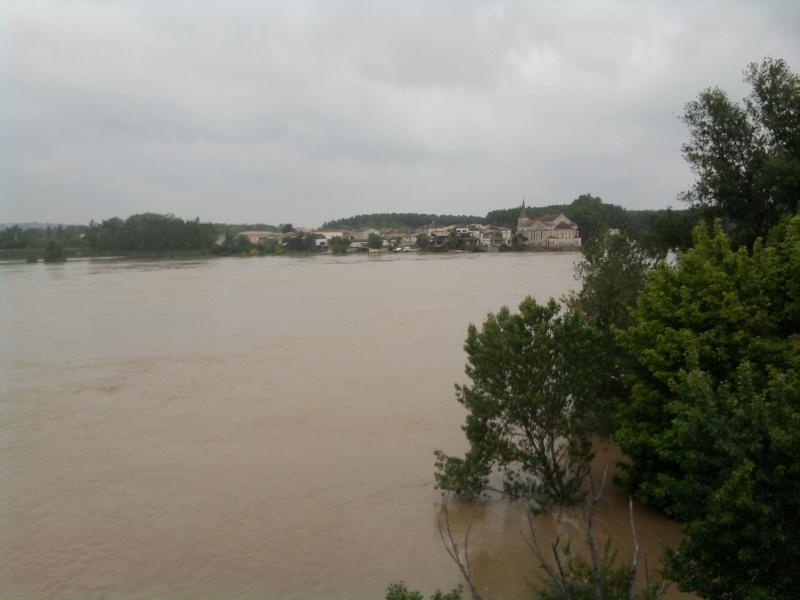 Alerte à la crue de la Garonne -  Inondation Photo218