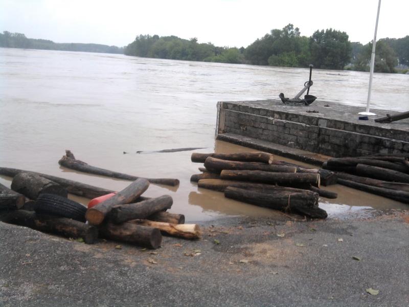 Alerte à la crue de la Garonne -  Inondation Photo219