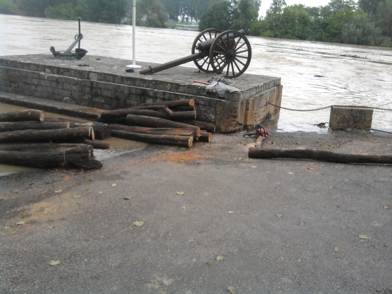 Alerte à la crue de la Garonne -  Inondation Photo220