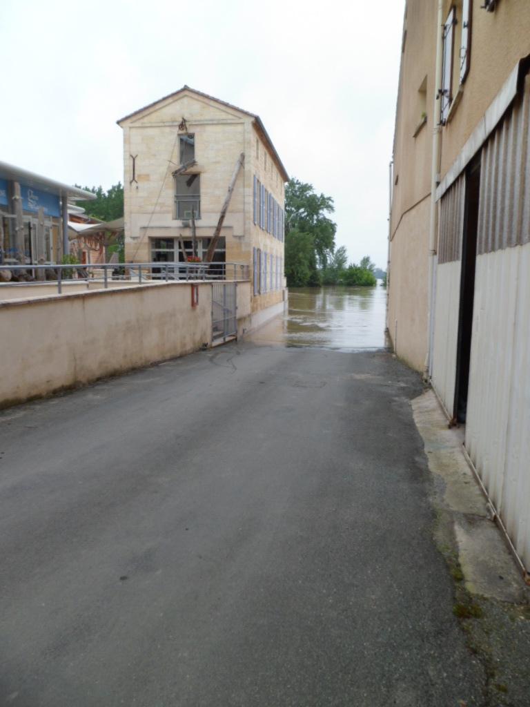 Alerte à la crue de la Garonne -  Inondation Sam_0910