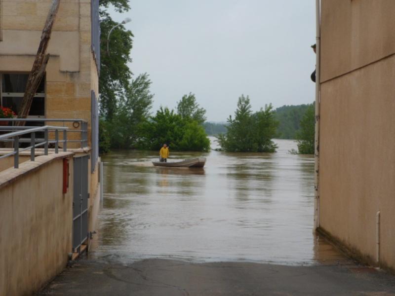 Alerte à la crue de la Garonne -  Inondation Sam_0911