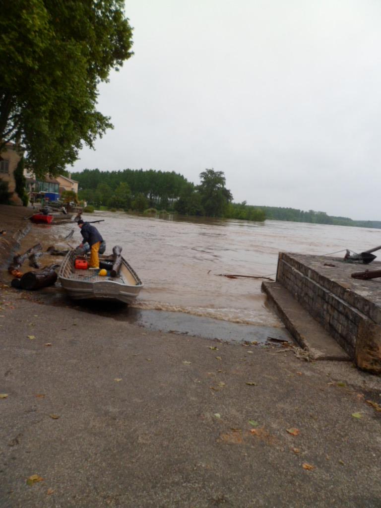 Alerte à la crue de la Garonne -  Inondation Sam_0913