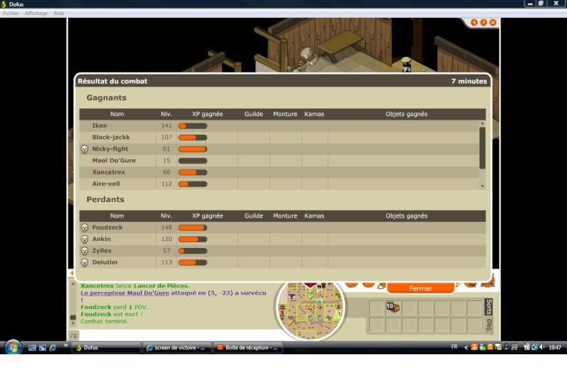 screen de victoire G_g10