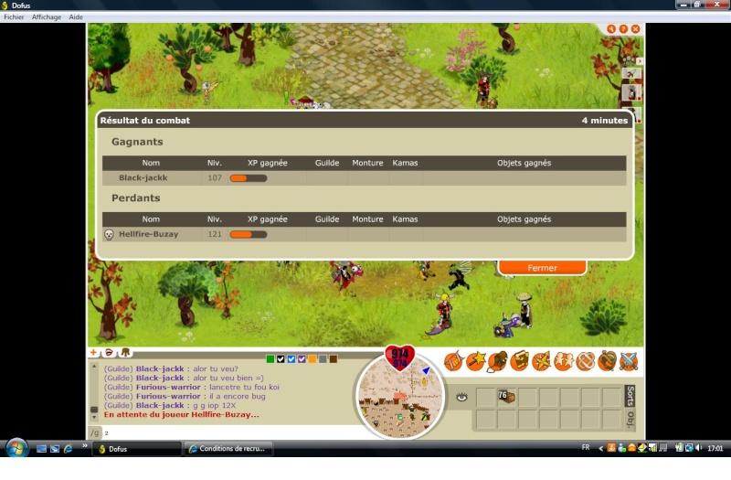 screen de victoire Iop_1216