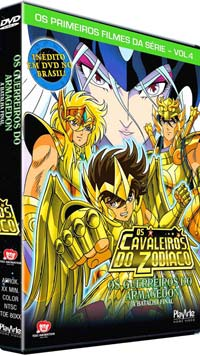 Saint Seiya - Guerreiros do Armagedon Dvd_cd12