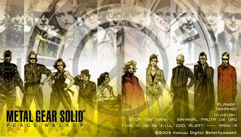 Metal Gear Solid Peace Walker 2nd Demo Wallpapers Mgspw_15