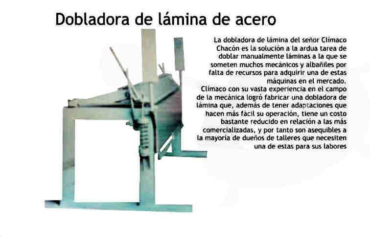 Concepto básico de la Dobladora de Lámina (chapa) Metálica Doblad11