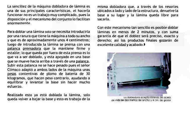 Concepto básico de la Dobladora de Lámina (chapa) Metálica Doblad12