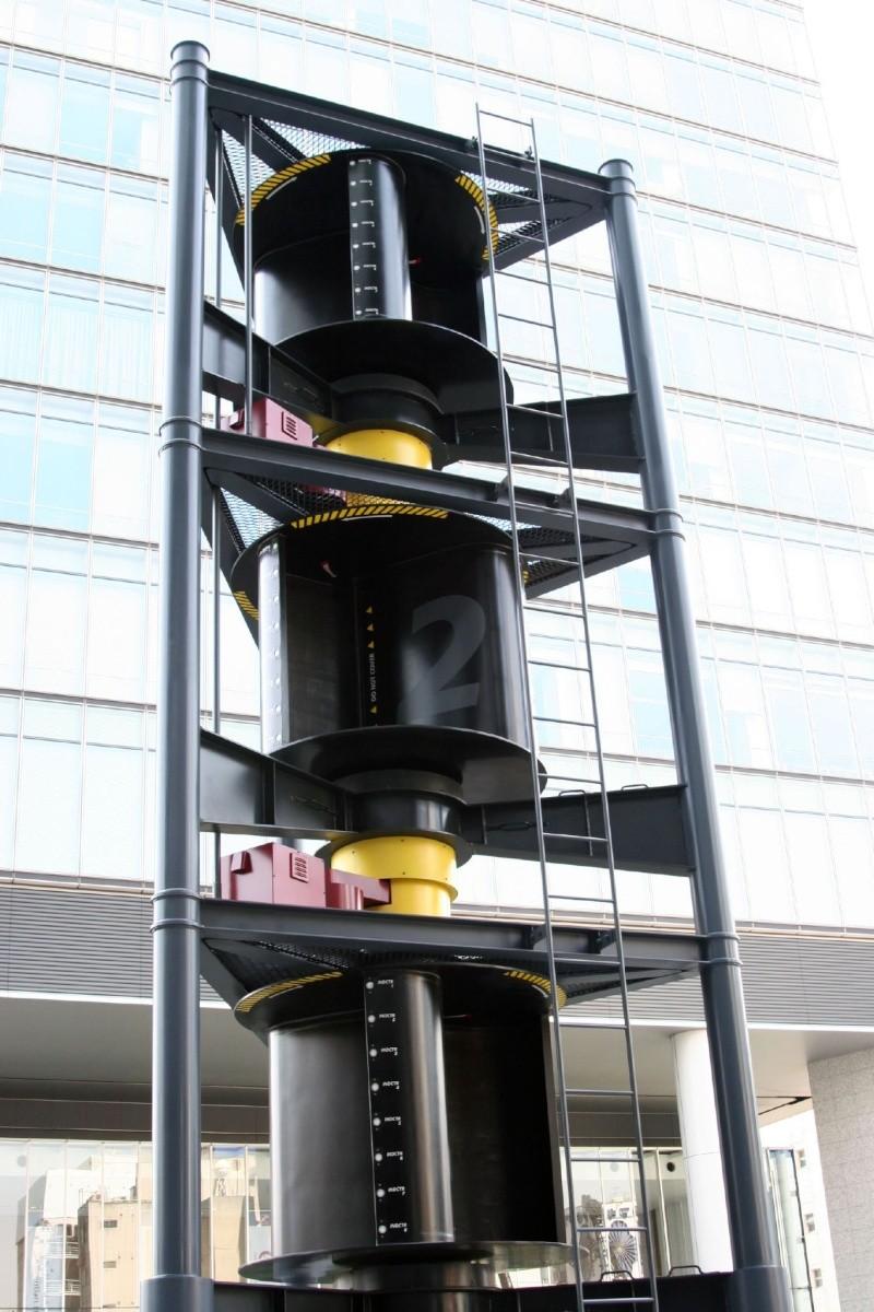 Eólica de eje vertical Savoni10