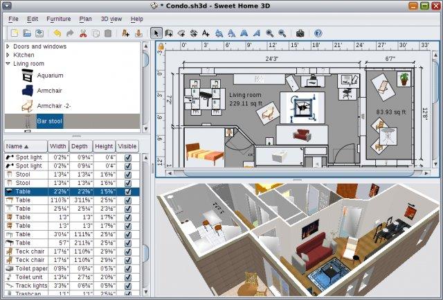 Sweet Home 3D, para diseño de planos Sweet_10