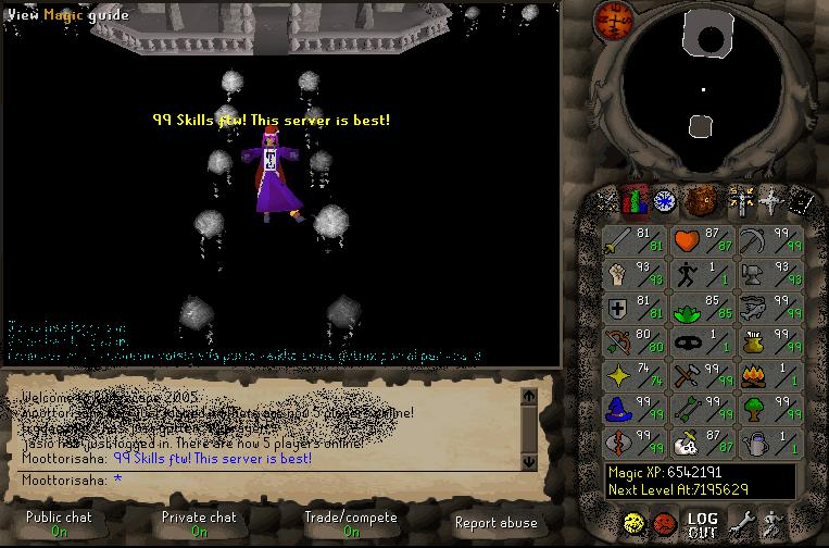 Heh=) my relaxing place(99 skillz ftw!=)) 99_ski11