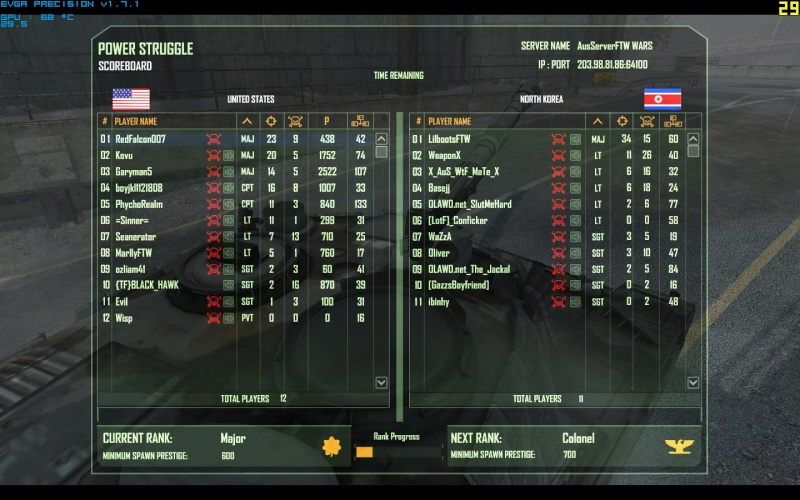 Falcon's Best Scores Crysis12