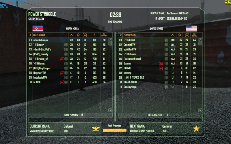 Falcon and Eclipse tearing it up Crysis21