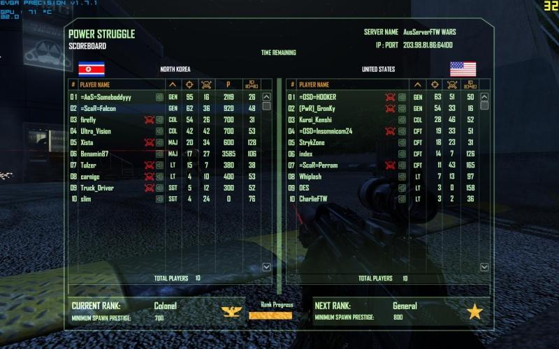 Falcon's best score so far Crysis23