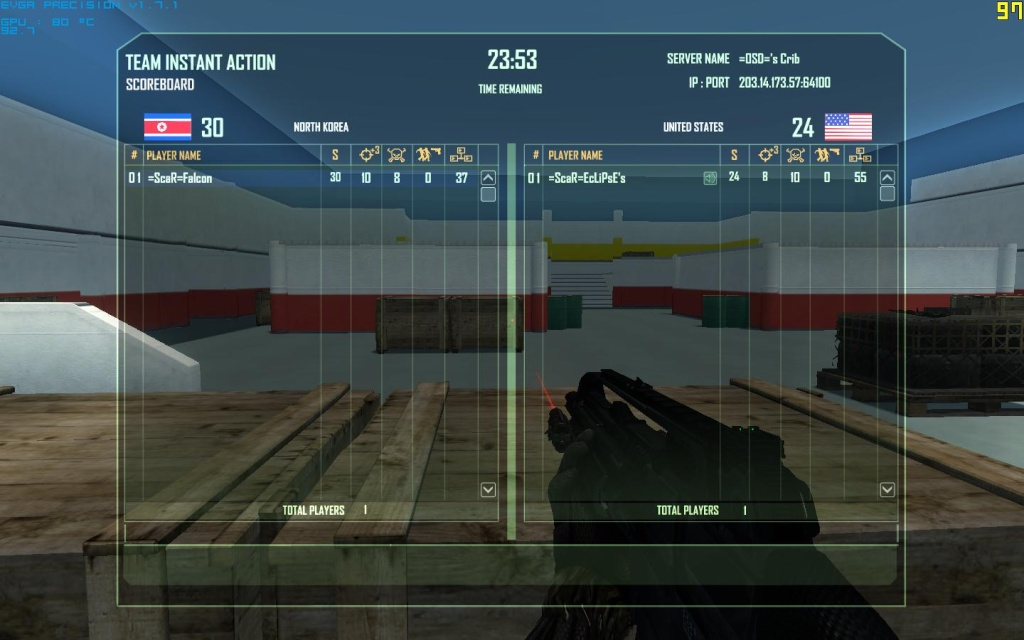 Falcon gets better again Crysis25