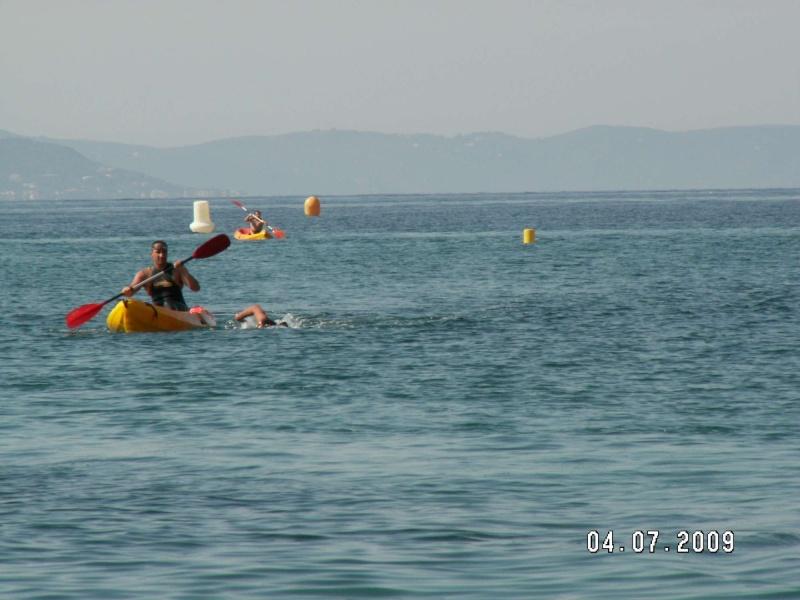 Kayak & swim à Ajaccio Arriva11