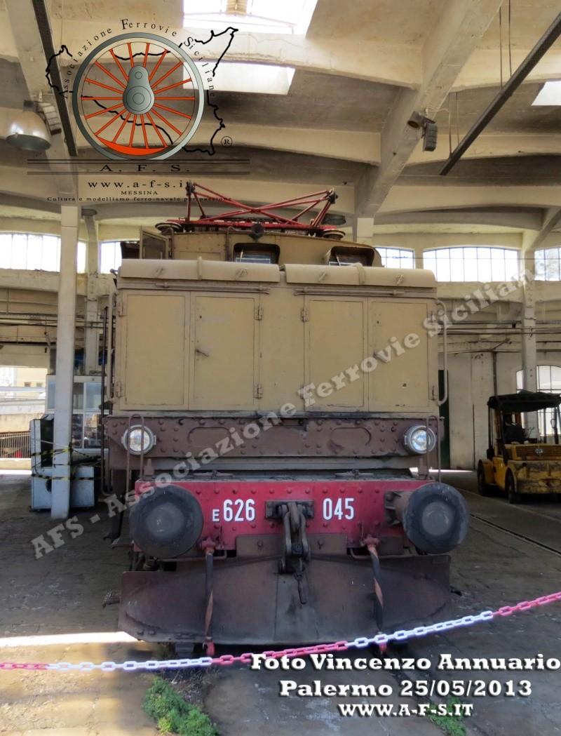 25 maggio 2013 - Visita al Deposito Rotabili Storici di Palermo Img_5810