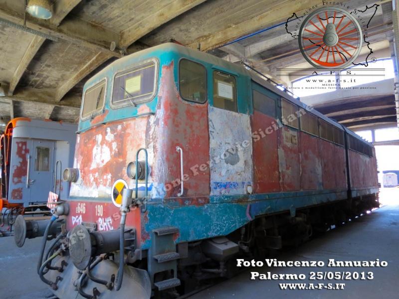 25 maggio 2013 - Visita al Deposito Rotabili Storici di Palermo Img_5811