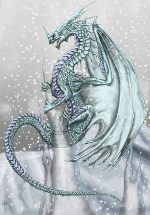 Book of Dragons, Pheonixs, and Griffins Ice_dr10