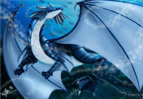 Book of Dragons, Pheonixs, and Griffins Water_11