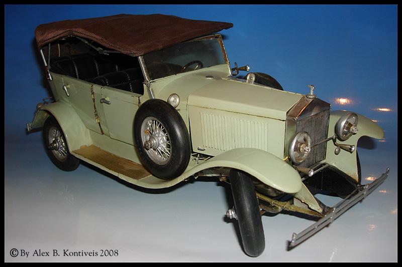 1/12 scratchbuilt Rolls. Dsc04111