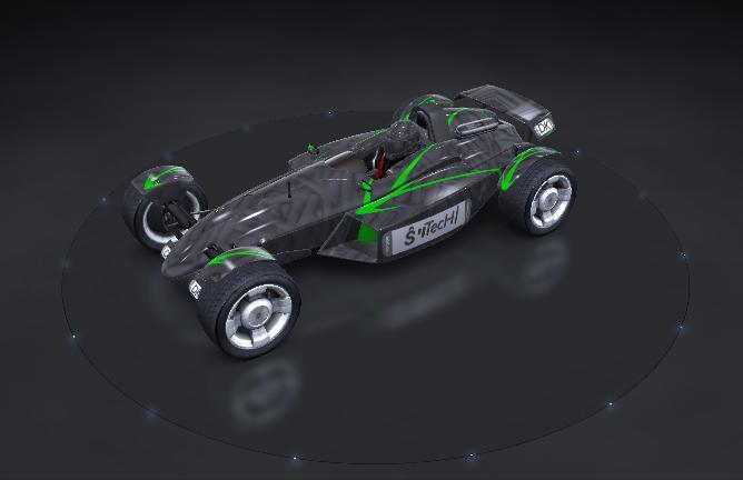 Team S-Tech Cars Billed10