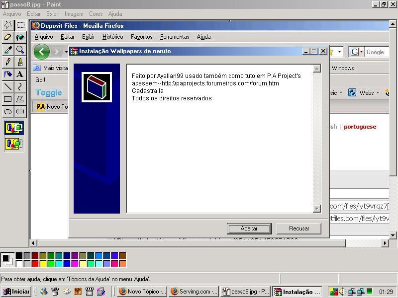 Instalador para qualquer programa facil! Passo811