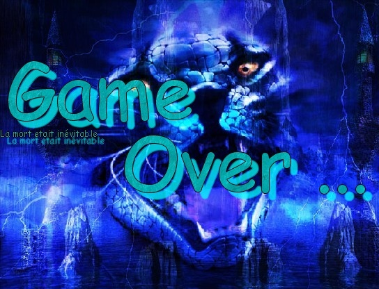 Quelque Game Over Simple Fait Par Yoshi-Dragon Game_o13