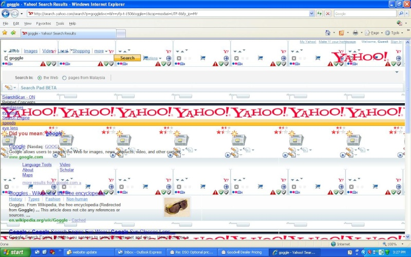 Yahoo search background infected.Not sure is virus, spyware or malware. Photo10