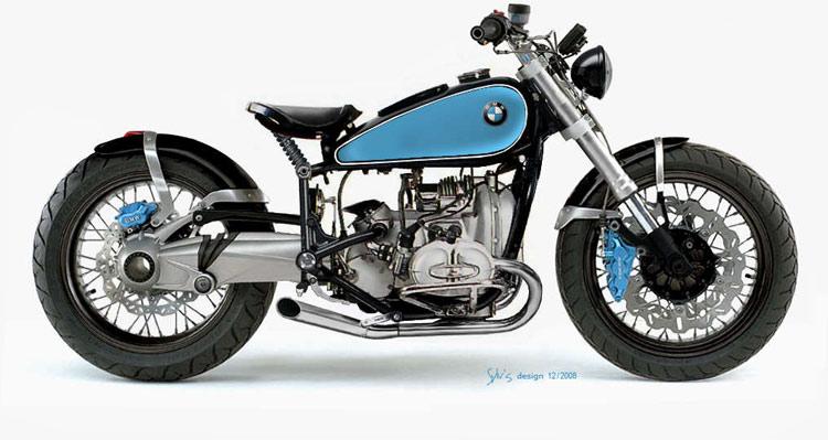 C'est ici qu'on met les bien molles....BMW Café Racer - Page 2 Bmw-ol11
