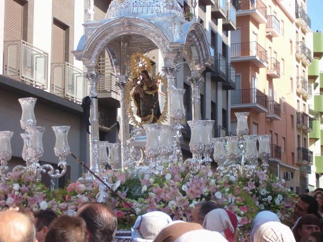 Traslado a la Iglesia de La Concepción dia 16 de Agosto 2009 100b1611