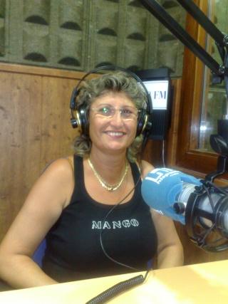 Visita de Cinta Aleman y Patricio, oyentes de Barcelona 11082010