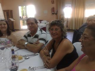 Visita de Cinta Aleman y Patricio, oyentes de Barcelona 11082013