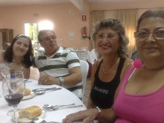 Visita de Cinta Aleman y Patricio, oyentes de Barcelona 11082014