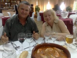 Visita de Cinta Aleman y Patricio, oyentes de Barcelona 11082015